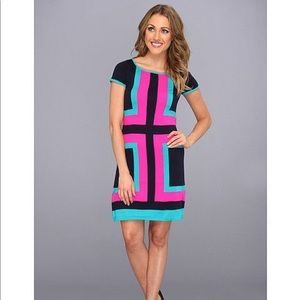 Lilly Pulitzer Color Block Sweater Dress
